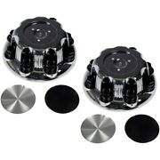Set-rb909028-2 Dorman Set Of 2 Wheel Center Caps Front And Rear New For Chevy Pair