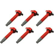 82726 Msd Set Of 6 Ignition Coils New For Vw Town And Country Ram Truck Sprinter