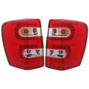 311150 Anzo Tail Lights Lamps Set Of 2 Driver And Passenger Side New Lh Rh Pair
