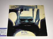 Peter Gabriel Signed Vinyl Record Genesis Certified By Psa Dna Authentication