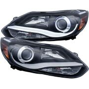 121490 Anzo Headlight Lamp Driver And Passenger Side New Lh Rh For Ford Focus
