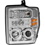 111167 Anzo Headlight Lamp Driver And Passenger Side New For F250 Truck F350 F450