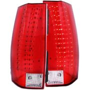 311190 Anzo Set Of 2 Tail Lights Lamps Driver And Passenger Side New Lh Rh Pair