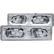 Anzo 111300 Headlight For 88-98 Gmc C1500 Left And Right