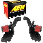 21-823ds Aem Air Cold Intake New For Infiniti M37 Q70 2014-2017