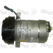 6511307 Gpd A/c Ac Compressor New For Olds Le Sabre Ninety Eight With Clutch