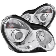 121080 Anzo Headlight Lamp Driver And Passenger Side New For Mercedes C Class