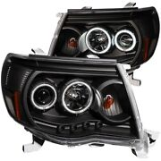121282 Anzo Headlight Lamp Driver And Passenger Side New Lh Rh For Toyota Tacoma