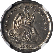 1840-p Seated Liberty Dime No Drapery Ngc Ms65 Nice Eye Appeal Strong Strike