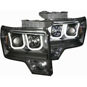 111263 Anzo Headlight Lamp Driver And Passenger Side New For F150 Truck Lh Rh Ford