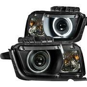 121312 Anzo Headlight Lamp Driver And Passenger Side New For Chevy Lh Rh Camaro