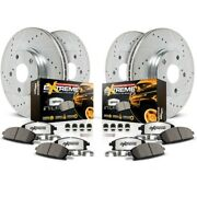 K8027-36 Powerstop 4-wheel Set Brake Disc And Pad Kits Front And Rear New For Ford