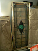Stained Glass, Large Pair, Windows Or Door Inserts No Breakes