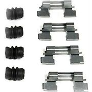 117.33043 Centric Brake Hardware Kit Front New For Audi A8 Quattro S6 S8 A7 S7