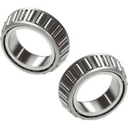 Set-tm33281 Timken Bearing Races Set Of 2 Rear Driver And Passenger Side New Pair