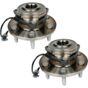 Set-acfw346 Ac Delco Wheel Hubs Set Of 2 Front Driver And Passenger Side New Pair