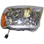 55155553ad Headlight Lamp Driver Left Side New Sealed Beam Lh Hand For Jeep
