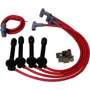35359 Msd Set Of 4 Spark Plug Wires New For Honda Civic 1992-2000