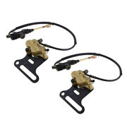 2 Set 0.5inch Hydraulic Rear Disc Brake Master System For 110cc 125cc Scooter