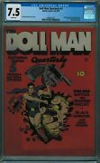 Doll Man Quarterly 1 Cgc 7.5 8th Best Cgc Copy White Pages 1941