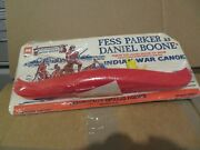 Multiple Products Fess Parker As Danial Boone Tv Show Indian War Canoe 209 Nip
