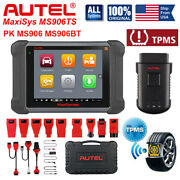 Autel Maxisys Ms906ts Obd2 Auto Diagnostic Scanner Tpms Programming As Ms906bt