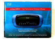 Cisco Linksys E3000 High Performance Wireless-n Dual-band Router
