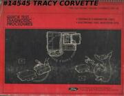 1981 Ford Electronic Engine Controls Eec-iii Quick Test Diagnostic Procedures