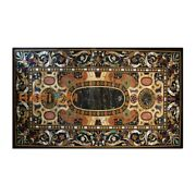 5and039x3and039 Dining Table Marble Top Scagliola Office Furniture Inlay Semi Decor B360