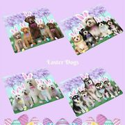 Easter Holiday Blanket Dogs Cats Pet Sherpa Fleece Throw Blanket Gifts
