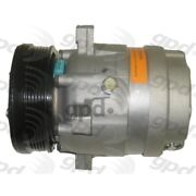 6511319 Gpd A/c Ac Compressor New For Chevy Olds Cutlass With Clutch Cavalier