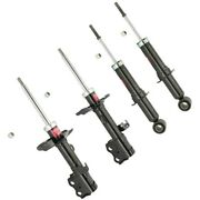 Set-ky339115-c Kyb Set Of 4 Shock Absorber And Strut Assemblies New Lh And Rh