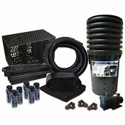 Pond Free 10000 Waterfall Kit 10000 Gph Pump 10and039 X 40and039 Pvc Liner Tgpvctpmthb7
