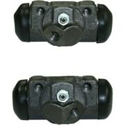 Set-ce134.61006-r Centric Set Of 2 Wheel Cylinders Rear Driver And Passenger Pair