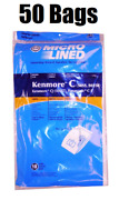 50 Dvc Bags For Sears Kenmore Vacuum Cleaner Bags 5055 50557 50558 C Q Canister