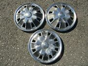 Lot Of 3 Factory 1971 To 1976 Toyota Celica 13 Inch Hubcaps Wheel Covers
