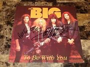 Mr. Big Band Signed To Be With You 12 Vinyl Ep Record Paul Gilbert Pat Torpey