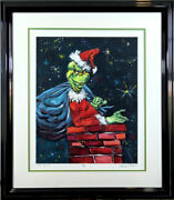 You're A Mean One Chuck Jones Limited Edition Giclee Framed Christmas