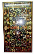 26and039and039x52and039and039 Black Marble Dining Top Table Grapes Mosaic Inlay Kitchen Decor B296