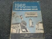1965 Ford B500 B600 School Bus Chassis Truck Parts And Accessories Catalog Manual