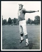 1957 Tobin Rote, New Superstar Of The Detroit Lions Football Action Photo