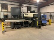 Used Whitney 3400rtc Cnc Punch Plasma 2005 Reconditioned In 2018 With 48k Parts