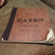 Joseph Haydn Edition Peters No.66 Book Sheet Music Vintage Classic Collectible
