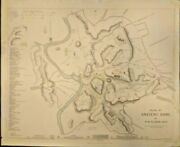 Extremely Rare Map Of The Plan Of Ancient Rome 1830 Genuine Frameable Italy