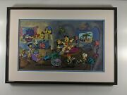 Wacky Inventions Limited Edition Hand-painted Cel Framed H-b The Flintstones