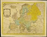 Extremely Rare Map Of An Accurate Map Of Europe From The Latest Observation 1757