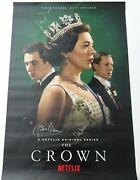 The Crown Cast Autographed Movie Poster Signed By 3 Coleman Beckett Bas Coa