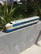 Japanese Bullet Train Tin Toy Friction 29 Inches