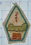 241st Chinook Helicopter Hand Made Embroidered Vietnam Arvn Vnaf Army Patch