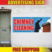 Chimney Cleaning Banner Advertising Vinyl Sign Flag Pipe Fireplace Service Flue